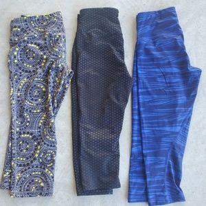 Compression pants 3/4 length